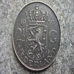 Macro foto's - Rijksdaalder 1959 munt