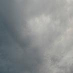 Zwaar bewolkte lucht