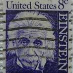 Postzegel 8 cents albert einstein
