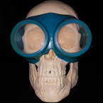Vintage swimming goggles