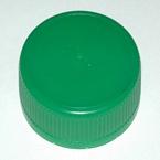 Groene plastic dop