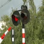 Spoorwegovergang lichten